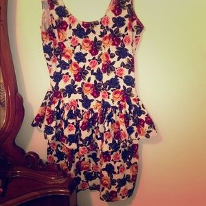 Cute flower dress